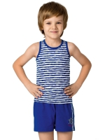 Комплект для мальчиков (майка-борцовка и шорты)