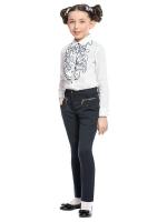 Блузка с длинным рукавом для младшей школы