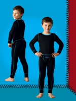 Комплект (водолазка+кальсоны) для мальчиков