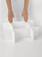 разделитель пластиковый для ящиков 41*13 см L102-113