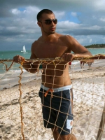 Шорты пляжные для мужчин MSH1118 Castell