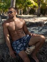 Шорты пляжные для мужчин MSH1120 Stamps