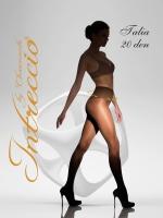 Женские классические колготки с корректирующим широким поясом TALIA 20