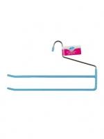 Вешалка для брюк двойная, с ПВХ-покрытием размер: 34,5х18,5 см V103-102
