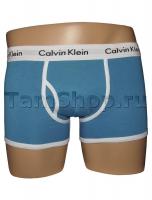 Трусы Calvin Klein сине-белые