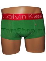 Трусы Calvin Klein зеленые с красным