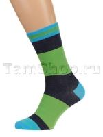 Полосатые носки из хлопка