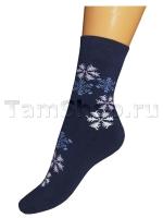 Махровые носки Снежинка