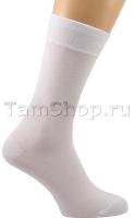 Белые носки мужские, Бамбуковые Премиум,